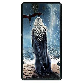 1 Crazy Designer Game Of Thrones GOT House Targaryen  Back Cover Case For Sony Xperia Z C460147