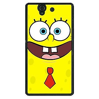 1 Crazy Designer Spongebob Back Cover Case For Sony Xperia Z C460461