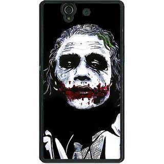 1 Crazy Designer Villain Joker Back Cover Case For Sony Xperia Z C460048