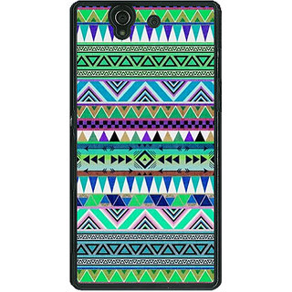 1 Crazy Designer Aztec Girly Tribal Back Cover Case For Sony Xperia Z C460064