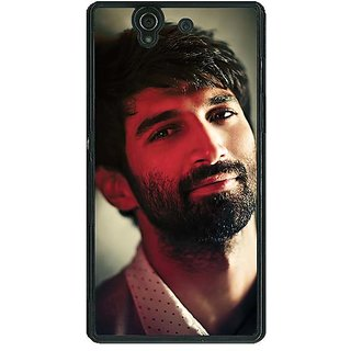 1 Crazy Designer Bollywood Superstar Aditya Roy Kapoor Back Cover Case For Sony Xperia Z C460925