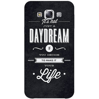 1 Crazy Designer Quote Back Cover Case For Samsung Galaxy A5 C451471