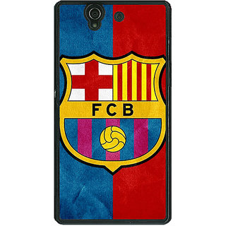 1 Crazy Designer Barcelona Back Cover Case For Sony Xperia Z C460537