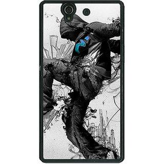 1 Crazy Designer Dance Back Cover Case For Sony Xperia Z C460828
