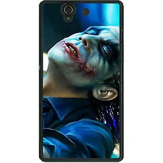1 Crazy Designer Superheroes Villain Joker Back Cover Case For Sony Xperia Z C460868