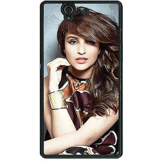 1 Crazy Designer Bollywood Superstar Parineeti Chopra Back Cover Case For Sony Xperia Z C460999