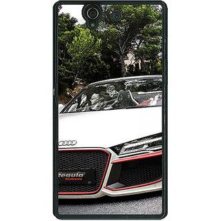 1 Crazy Designer Super Car Audi Back Cover Case For Sony Xperia Z C460618