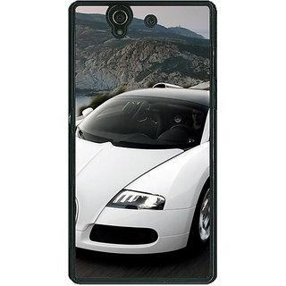 1 Crazy Designer Super Car Bugatti Back Cover Case For Sony Xperia Z C460628