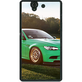 1 Crazy Designer Super Car BMW Back Cover Case For Sony Xperia Z C460634
