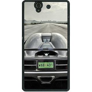 1 Crazy Designer Super Car Koenigsegg Back Cover Case For Sony Xperia Z C460637