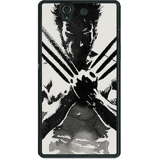 1 Crazy Designer Wolverine Hugh Jackman Back Cover Case For Sony Xperia Z C460892