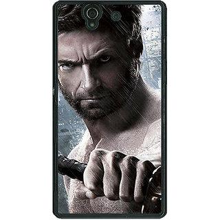 1 Crazy Designer Wolverine Hugh Jackman Back Cover Case For Sony Xperia Z C460893