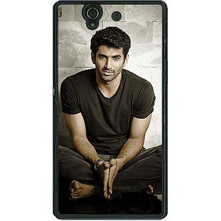 1 Crazy Designer Bollywood Superstar Aditya Roy Kapoor Back Cover Case For Sony Xperia Z C460902