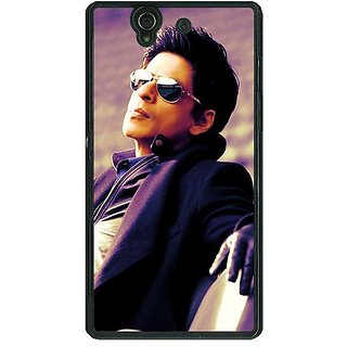 1 Crazy Designer Bollywood Superstar Shahrukh Khan Back Cover Case For Sony Xperia Z C460910