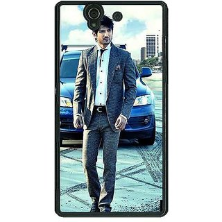 1 Crazy Designer Bollywood Superstar Sushant Singh Rajput Back Cover Case For Sony Xperia Z C460914