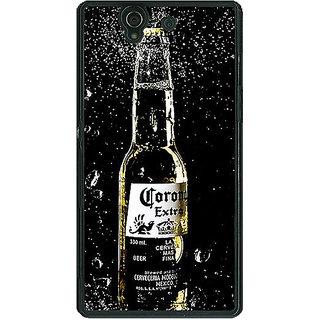 1 Crazy Designer Corona Beer Back Cover Case For Sony Xperia Z C461232