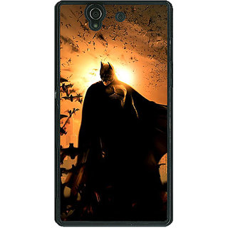 1 Crazy Designer Superheroes Batman Dark knight Back Cover Case For Sony Xperia Z C460005