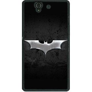 1 Crazy Designer Superheroes Batman Dark knight Back Cover Case For Sony Xperia Z C460010