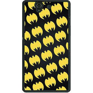 1 Crazy Designer Superheroes Batman Dark knight Back Cover Case For Sony Xperia Z C460012