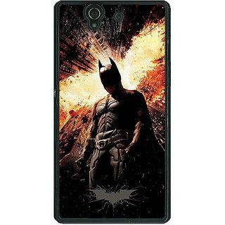 1 Crazy Designer Superheroes Batman Dark knight Back Cover Case For Sony Xperia Z C460015