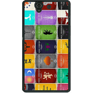 1 Crazy Designer Game Of Thrones GOT  Back Cover Case For Sony Xperia Z C460116
