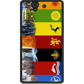 1 Crazy Designer Game Of Thrones GOT  Back Cover Case For Sony Xperia Z C460118