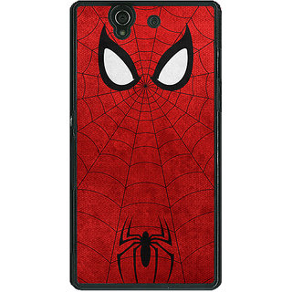 1 Crazy Designer Superheroes Spider Man Back Cover Case For Sony Xperia Z C460340