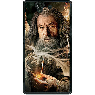 1 Crazy Designer LOTR Hobbit Gandalf Back Cover Case For Sony Xperia Z C460358