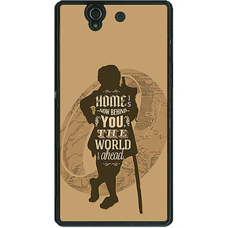 1 Crazy Designer LOTR Hobbit  Back Cover Case For Sony Xperia Z C460368