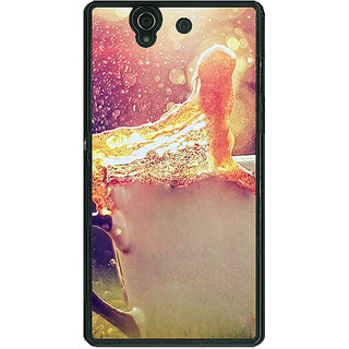 1 Crazy Designer Coffee Back Cover Case For Sony Xperia Z C460683