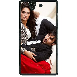 1 Crazy Designer Bollywood Superstar Nargis Fakhri Ranbir Kapoor Back Cover Case For Sony Xperia Z C460973