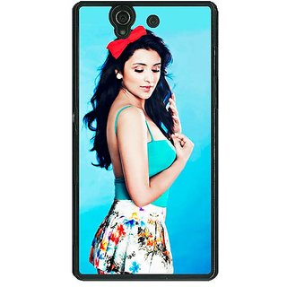 1 Crazy Designer Bollywood Superstar Parineeti Chopra Back Cover Case For Sony Xperia Z C460977
