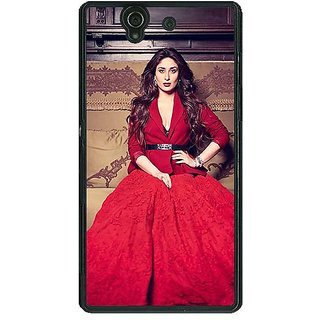 1 Crazy Designer Bollywood Superstar Kareena Kapoor Back Cover Case For Sony Xperia Z C460982