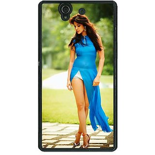 1 Crazy Designer Bollywood Superstar Anushka Sharma Back Cover Case For Sony Xperia Z C460987