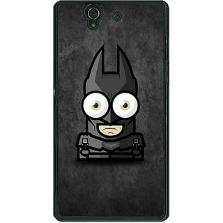 1 Crazy Designer Big Eyed Superheroes Batman Back Cover Case For Sony Xperia Z C460395