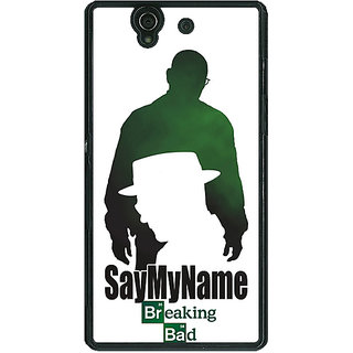 1 Crazy Designer Breaking Bad Heisenberg Back Cover Case For Sony Xperia Z C460403