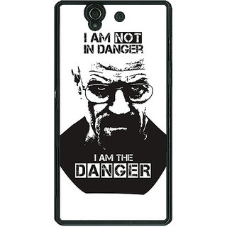 1 Crazy Designer Breaking Bad Heisenberg Back Cover Case For Sony Xperia Z C460404