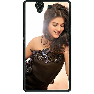 1 Crazy Designer Bollywood Superstar Shruti Hassan Back Cover Case For Sony Xperia Z C461011
