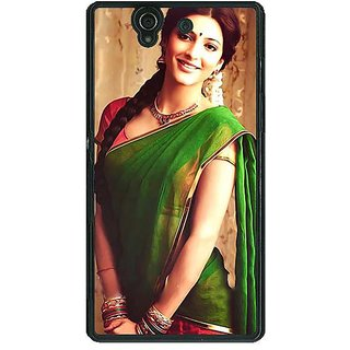 1 Crazy Designer Bollywood Superstar Shruti Hassan Back Cover Case For Sony Xperia Z C461017