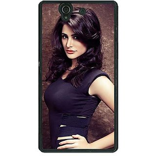 1 Crazy Designer Bollywood Superstar Nargis Fakhri Back Cover Case For Sony Xperia Z C461022