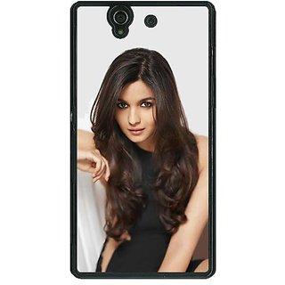 1 Crazy Designer Bollywood Superstar Alia Bhatt Back Cover Case For Sony Xperia Z C461027