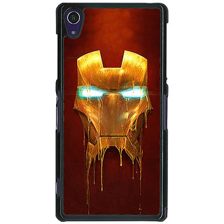 1 Crazy Designer Superheroes Ironman Back Cover Case For Sony Xperia Z1 C470025
