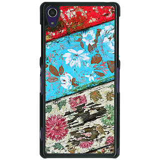 1 Crazy Designer Floral Pattern  Back Cover Case For Sony Xperia Z1 C470672