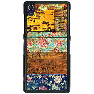 1 Crazy Designer Floral Pattern  Back Cover Case For Sony Xperia Z1 C470674
