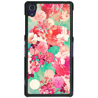 1 Crazy Designer Floral Pattern  Back Cover Case For Sony Xperia Z1 C470675