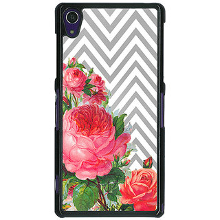 1 Crazy Designer Floral Pattern  Back Cover Case For Sony Xperia Z1 C470679