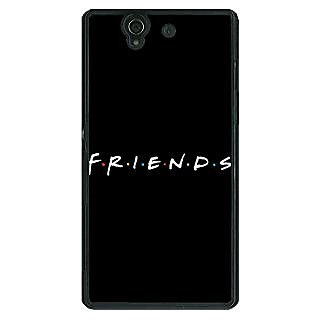1 Crazy Designer FRIENDS Back Cover Case For Sony Xperia Z C460442