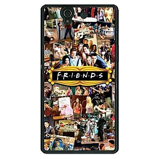 1 Crazy Designer FRIENDS Back Cover Case For Sony Xperia Z C460443