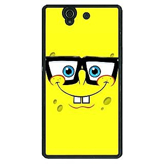 1 Crazy Designer Spongebob Back Cover Case For Sony Xperia Z C460459