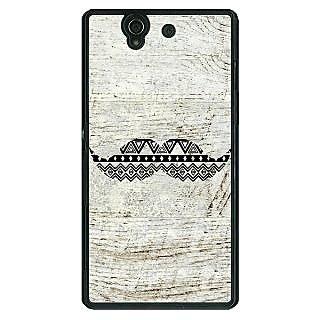 1 Crazy Designer Mustache Back Cover Case For Sony Xperia Z C460754